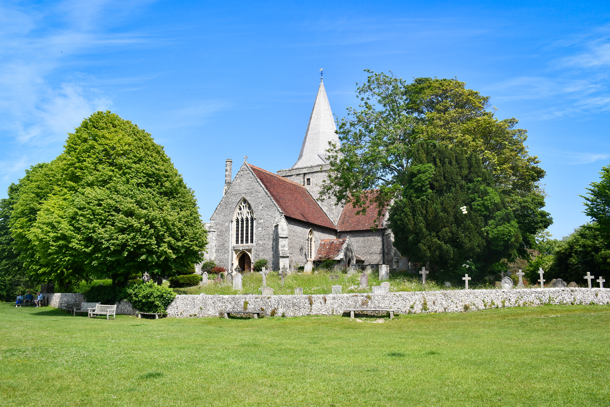 Alfriston church © French Moments