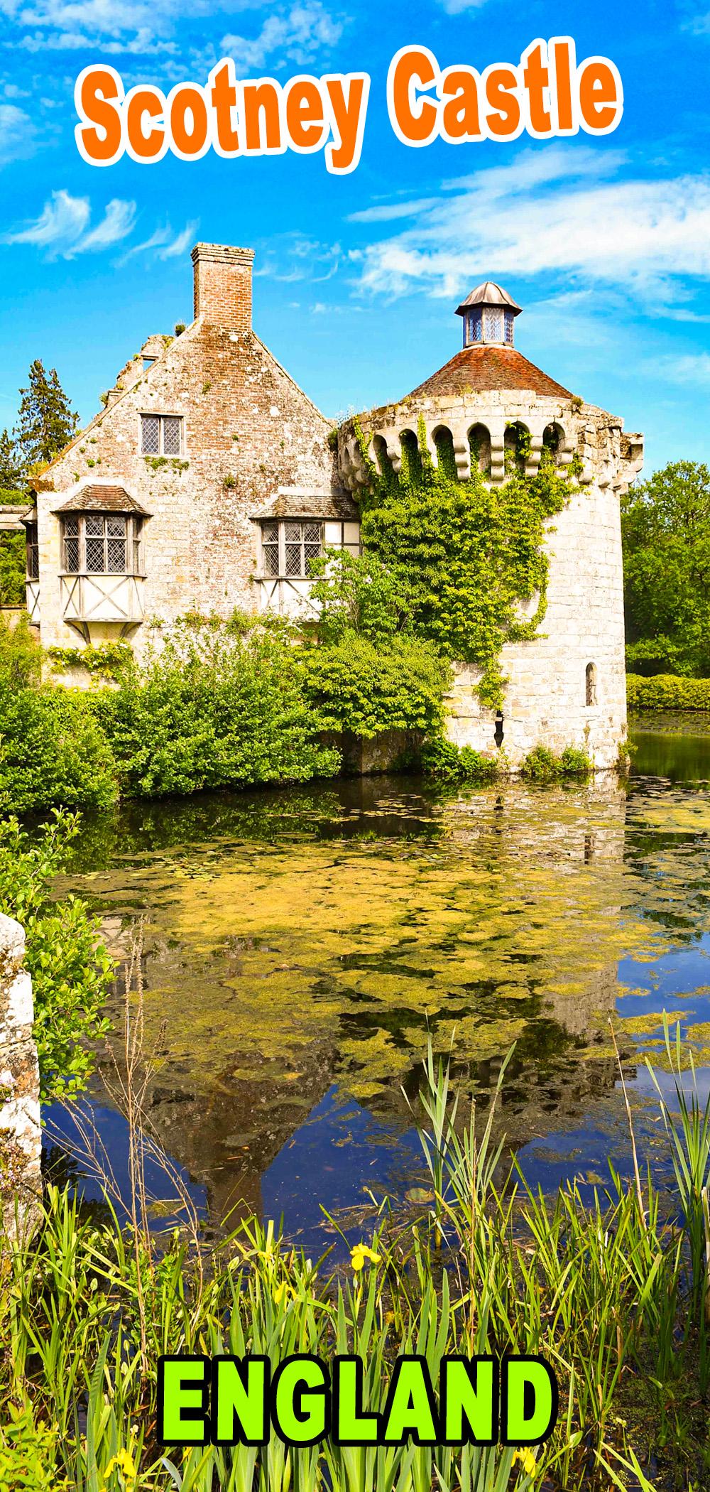 Scotney Castle pour Pinterest © French Moments