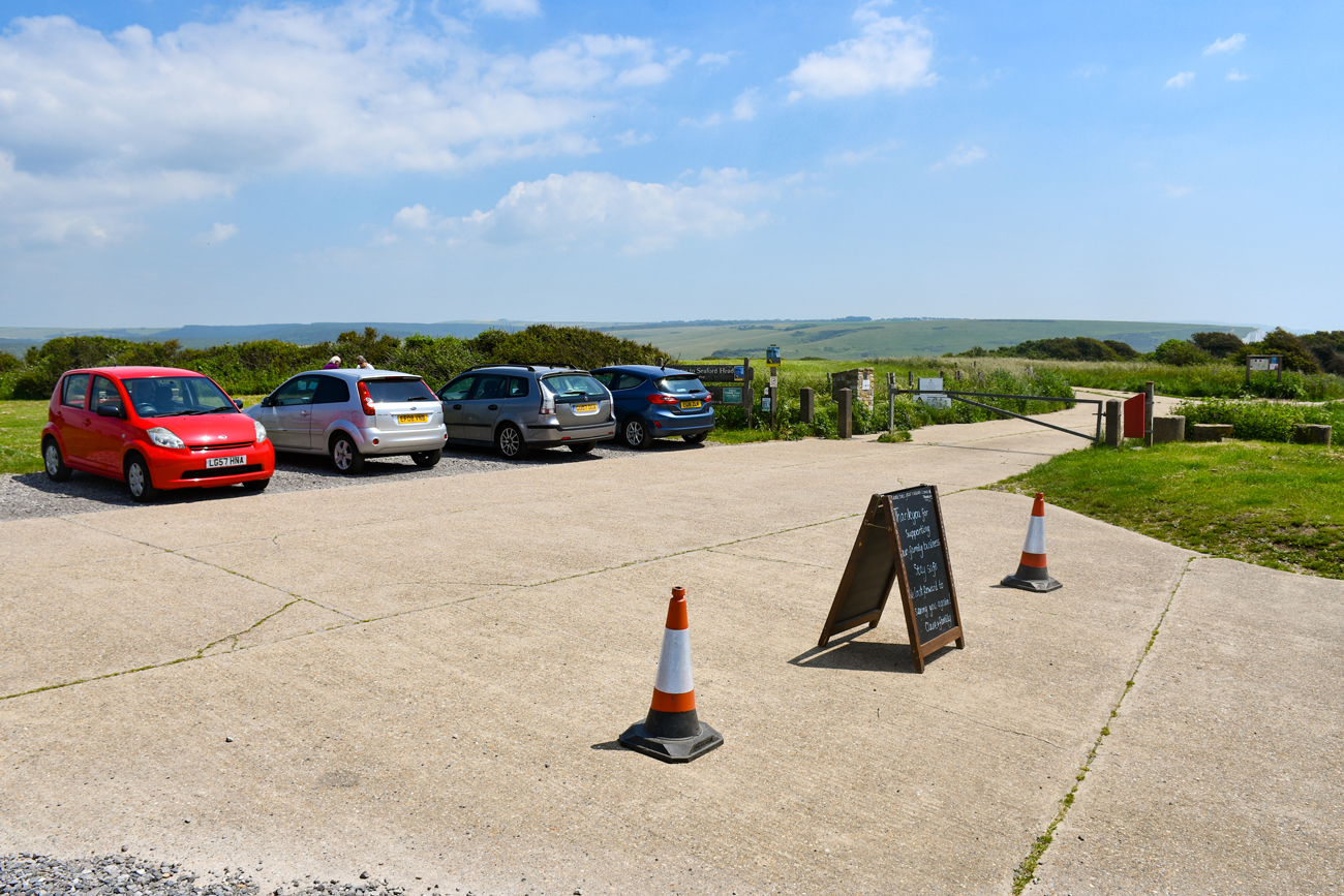 South Hill Barn Carpark © French Moments