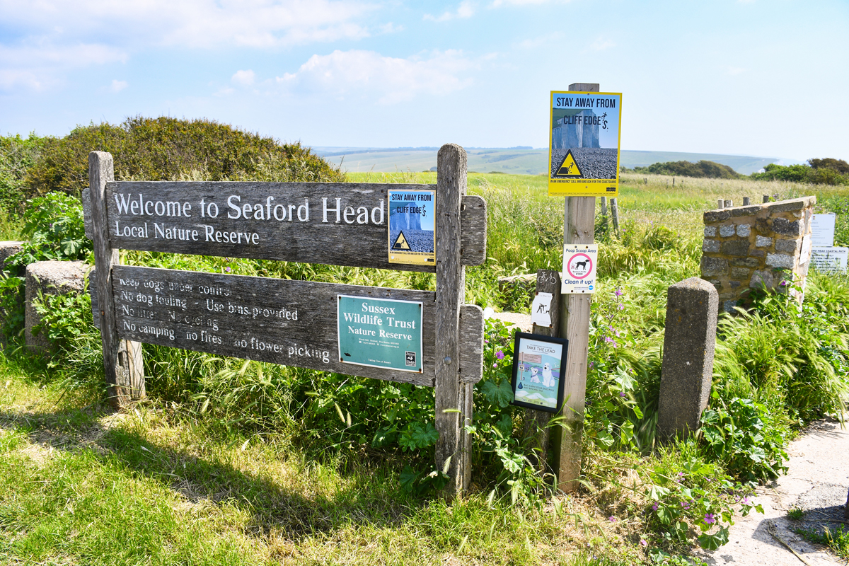 Natural Reserve of Seaford Head © French Moments