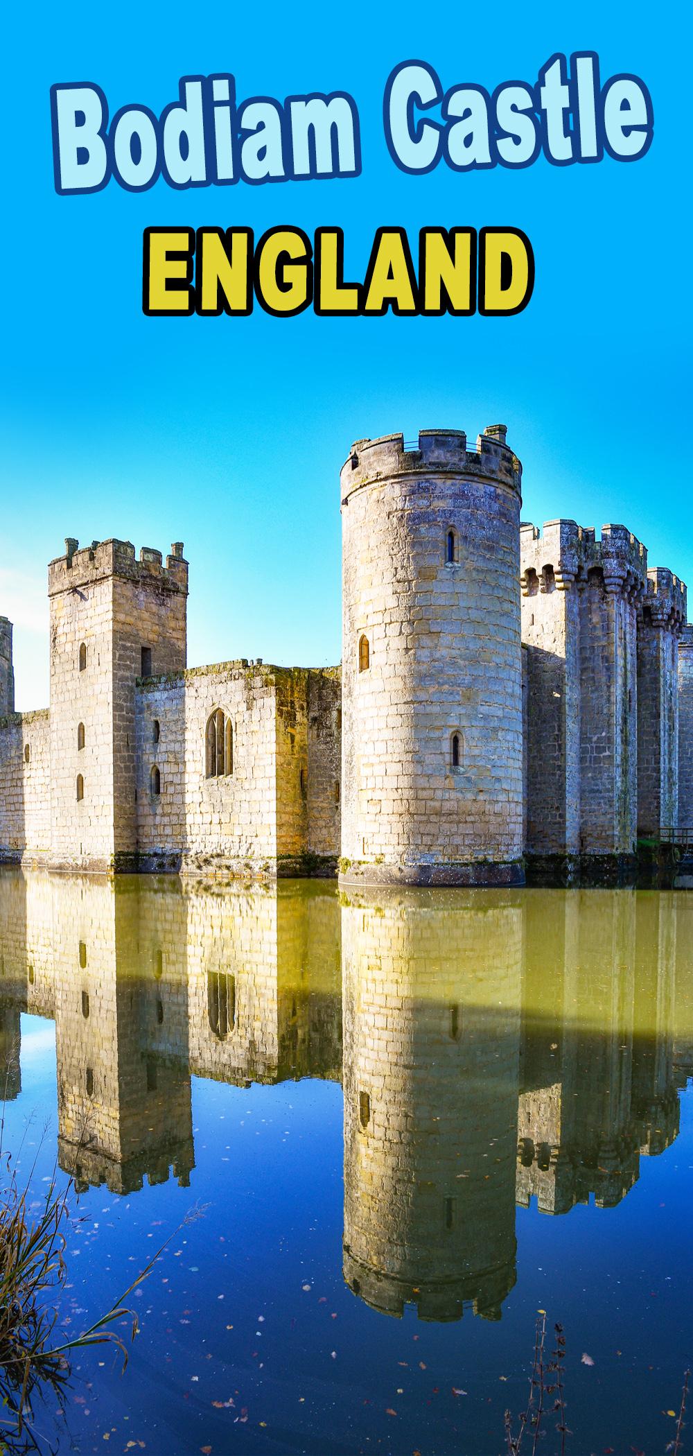 Bodiam Castle pour Pinterest © French Moments