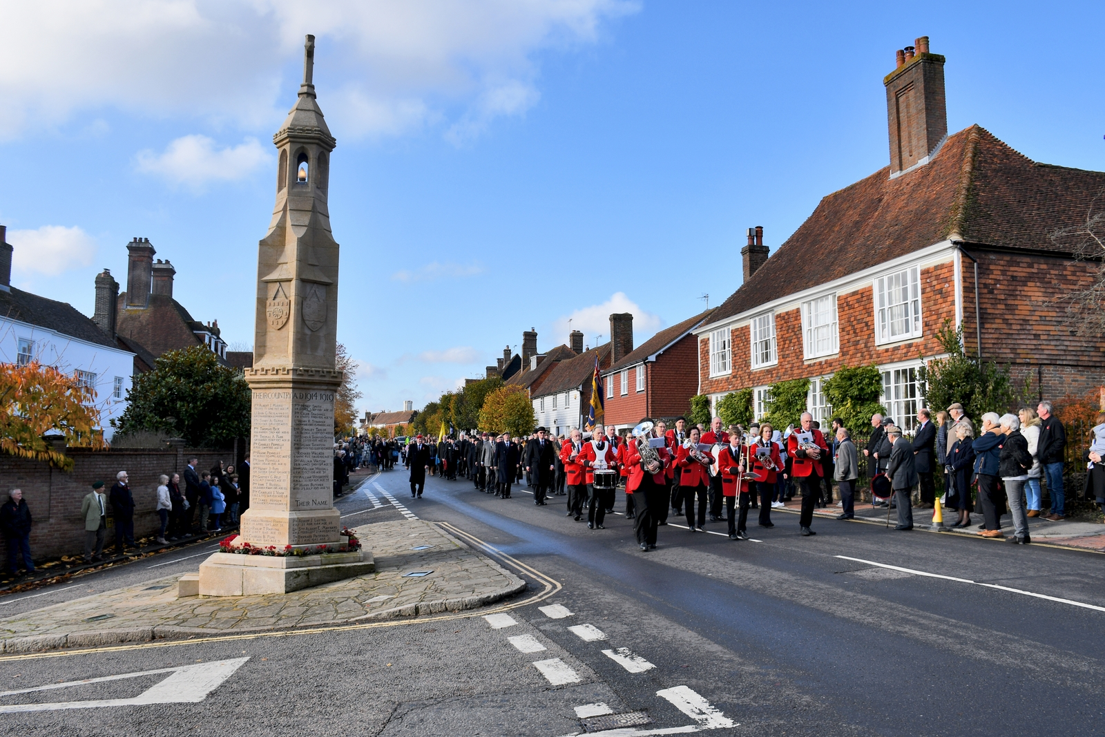 Remembrance Day à Burwash © French Moments