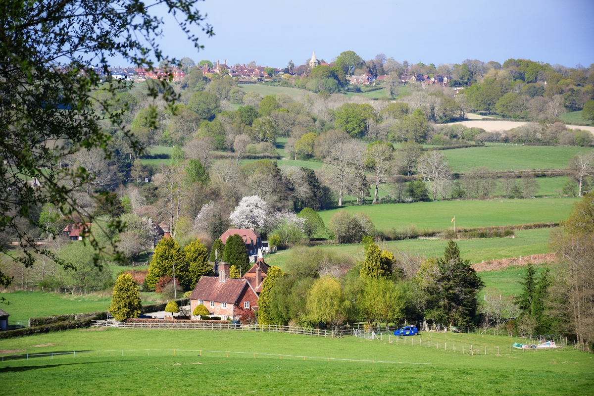 High Weald - Campagne de Burwash © French Moments