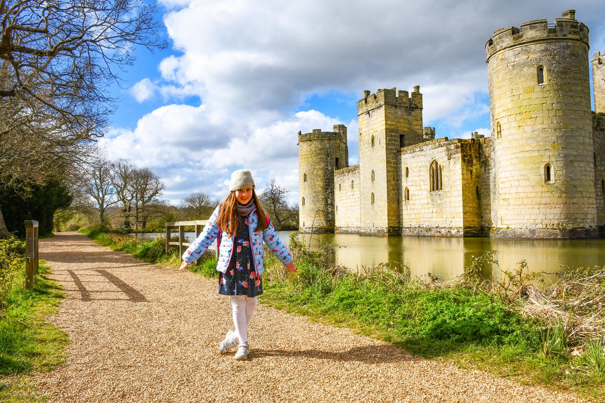 Visite au château de Bodiam © French Moments