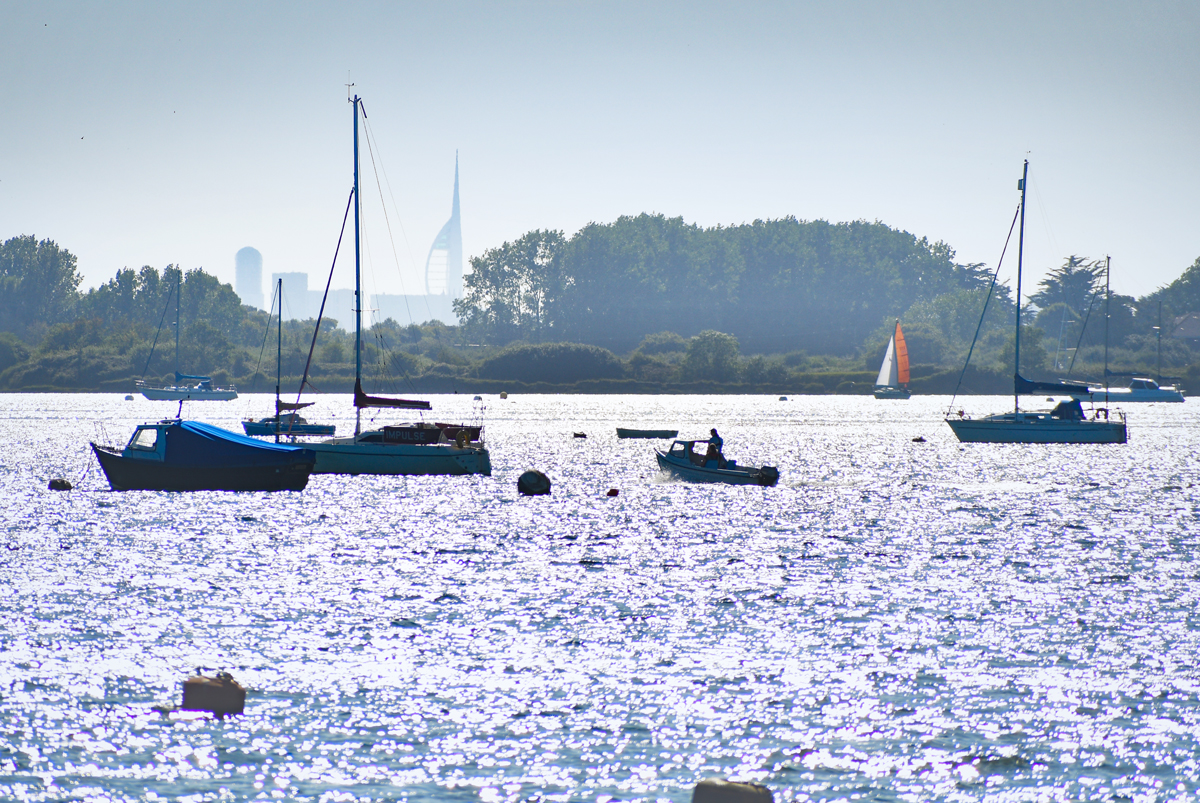 Emsworth et Spinnaker Tower © French Moments