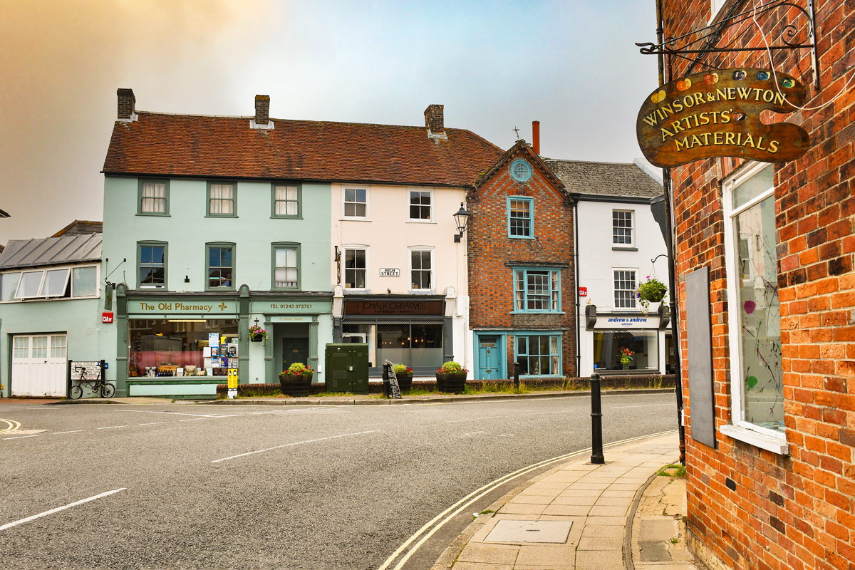 Queen Street, Emsworth © French Moments