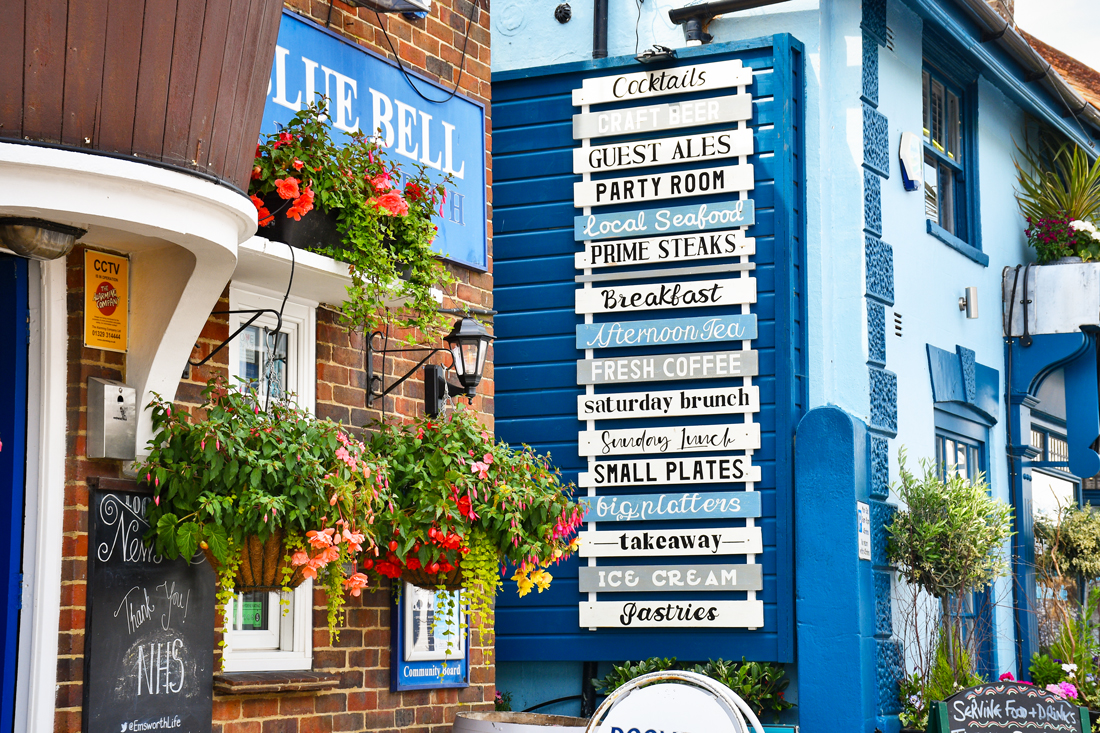 Blue Bell Inn, Emsworth © French Moments